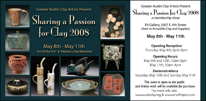 Sharing a Passion for Clay 2008